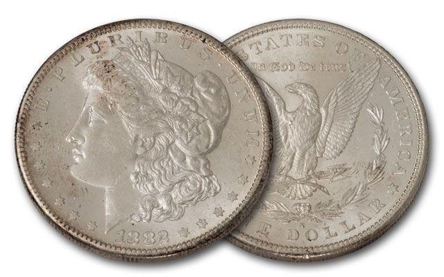1882-S Morgan Silver Dollar BU