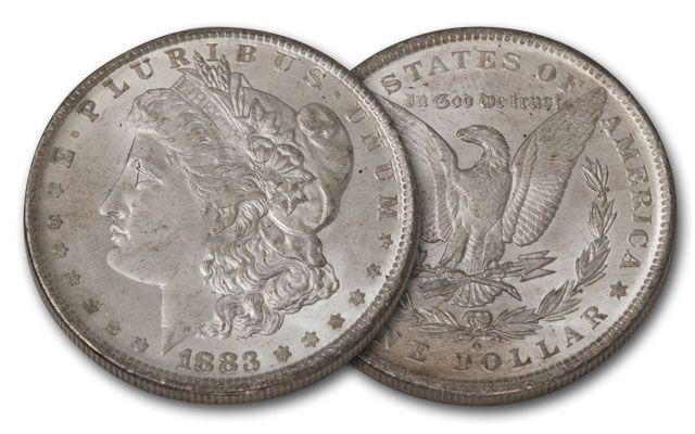 1883-O Morgan Silver Dollar BU