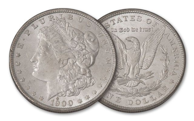 1900-O Morgan Silver Dollar BU