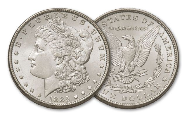 1885-P Morgan Silver Dollar BU