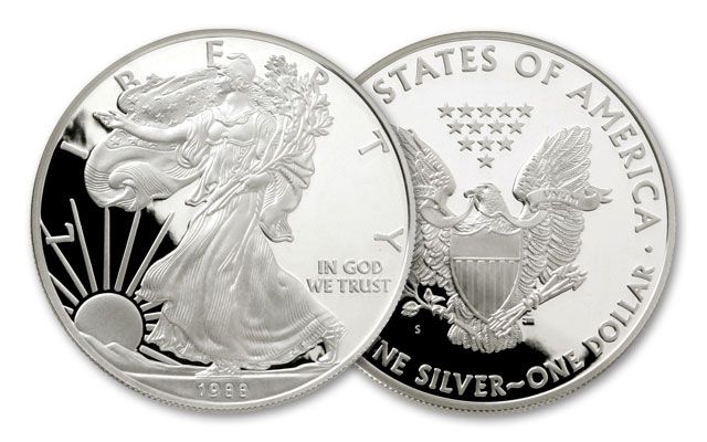 1988-S 1 Dollar 1-oz Silver Eagle Proof