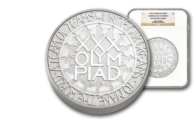 2012 London Olympics Kilo Silver NGC PF69