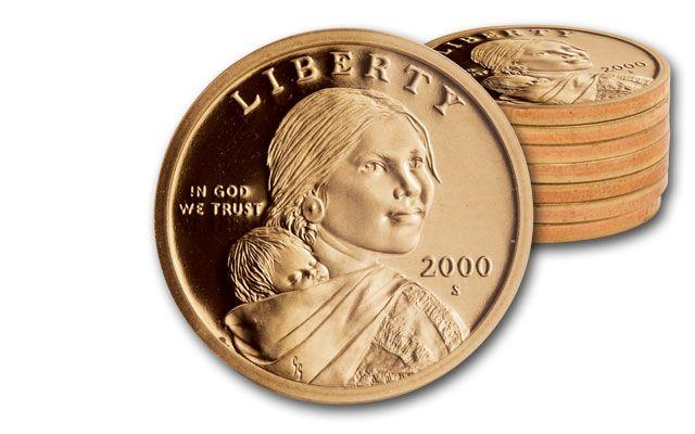 2000-2006 Sacagawea Dollar Proof 7pc Set