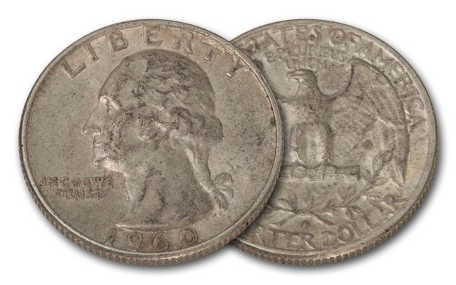 1932-1964 Silver Washington Quarter VG+