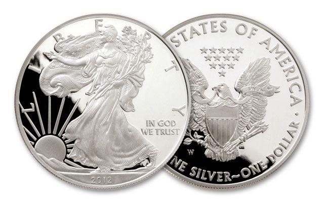 2012 1 Dollar Silver Eagle Proof