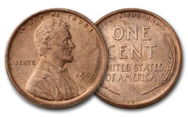 1909-P 1 Cent Lincoln VDB AU