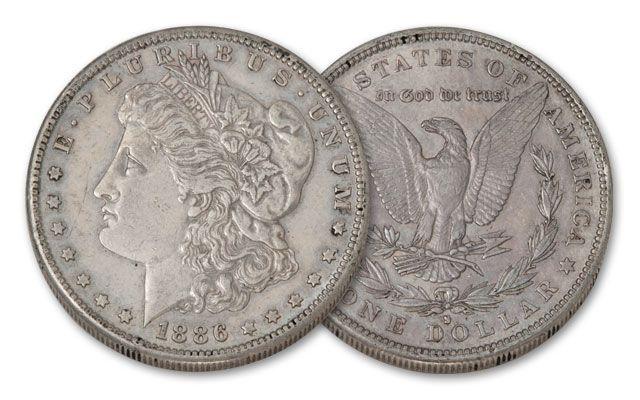 1886-S Morgan Silver Dollar XF