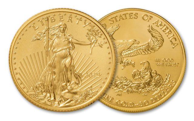 2015 50 Dollar 1-oz Gold Eagle BU