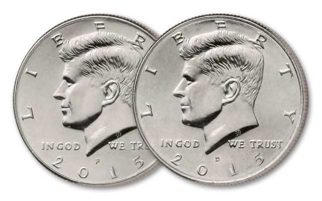 2015 50 Cents Kennedy P&D Roll BU