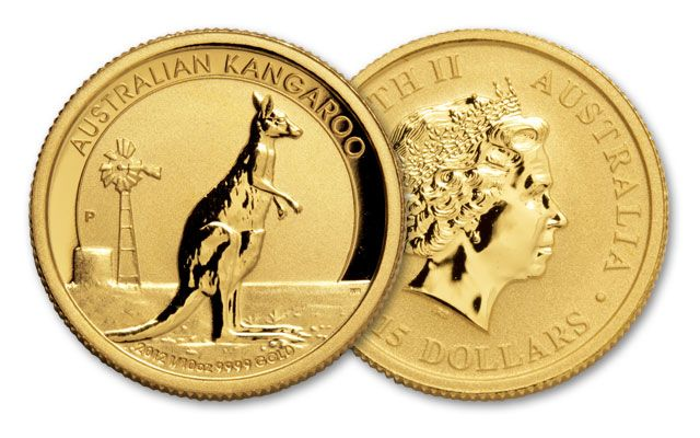 2012 Australia 1/10-oz Gold Red Kangaroo Proof