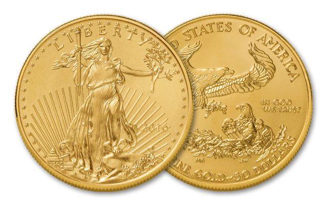 2016 50 Dollar 1-oz Gold Eagle BU