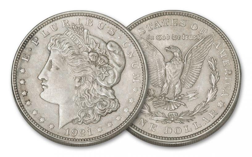 1921-P Morgan Silver Dollar XF