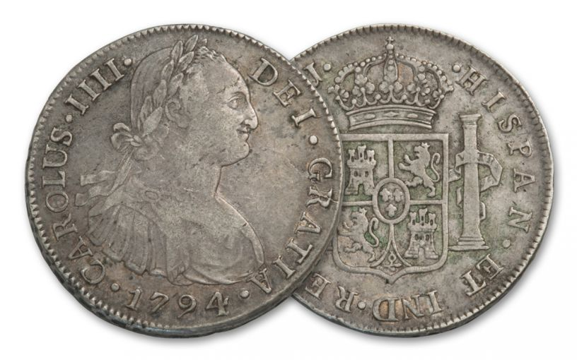 1772-1832 Spain 8 Reales Portrait NGC XF
