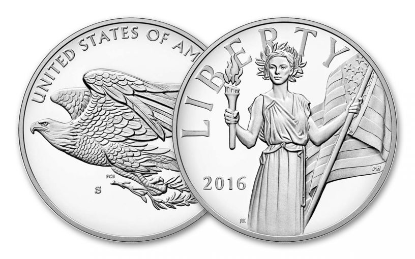 2016-S American Liberty Silver Medal Proof