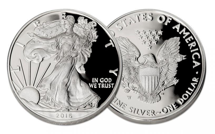 2016 1 Dollar 1-oz Silver Eagle NGC PF70UCAM FDI Mercanti & Jones Signed 7-Pc Set