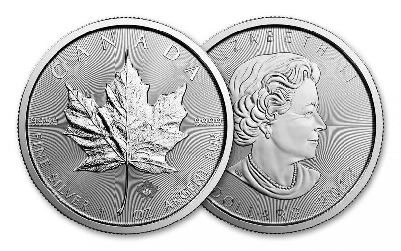 2017 Canada 5 Dollar 1-oz Silver Maple Leaf BU