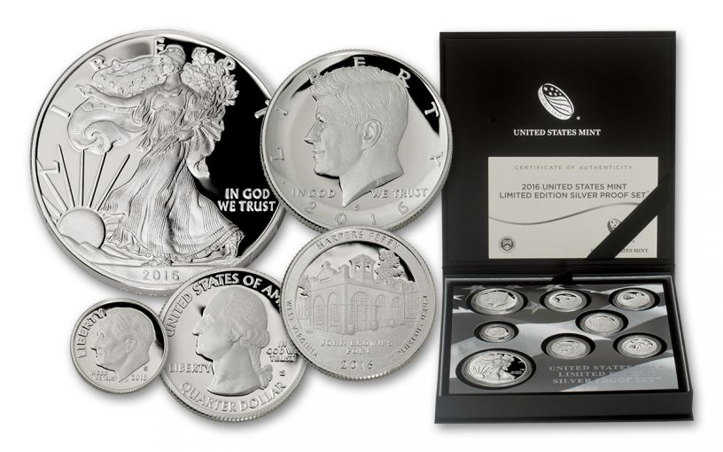 2016 U.S. Limited Edition Silver Proof Set