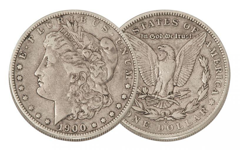 1900-O Morgan Silver Dollar VF