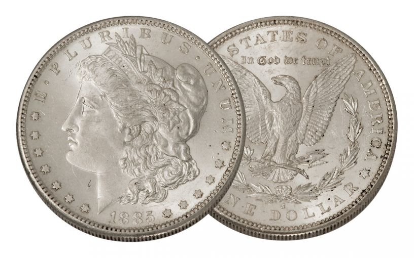 1885-S Morgan Silver Dollar BU