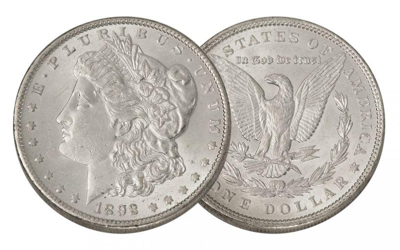 1892-P Morgan Silver Dollar BU