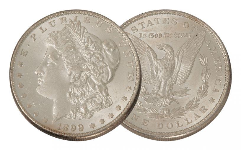 1899-P Morgan Silver Dollar BU