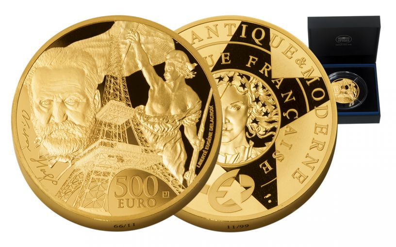 2017 France 500 Euro 5-oz Gold Europa Star - Age of Iron Proof