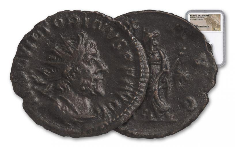 ANCIENT ROMAN VICTORINUS CIRCA AD 260