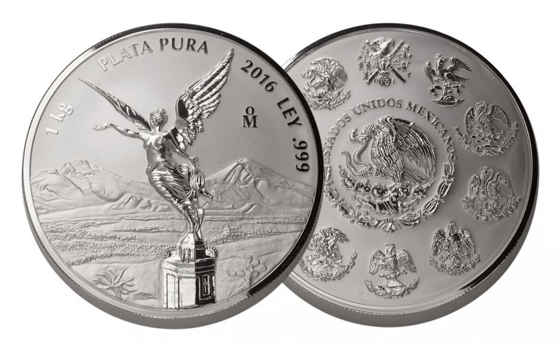 2016 Mexico 1 Kilo Silver Libertad Proof
