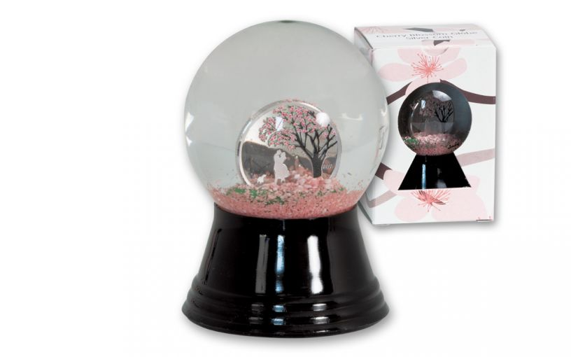 2017 Cook Island 1 Dollar Silver Cherry Blossom Globe Proof-Like
