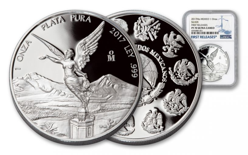 2017 Mexico 1-oz Silver Libertad NGC PF70UCAM First Releases