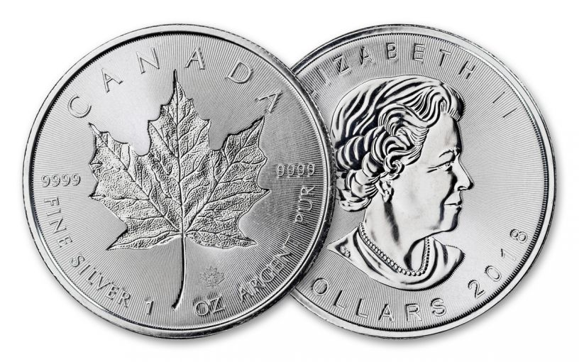 2018 Canada 1-oz Silver Incuse Maple Leaf BU
