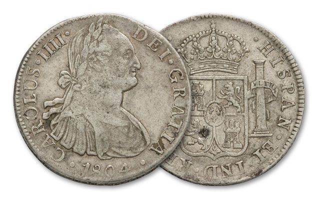 Image result for spanish silver dollar
