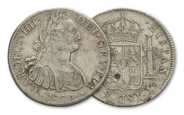1804 Spanish Silver Dollar Vg Govmint Com