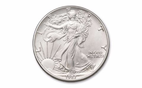 1987 1 Dollar Silver Eagle Ngc Pcgs Ms69 Govmint Com