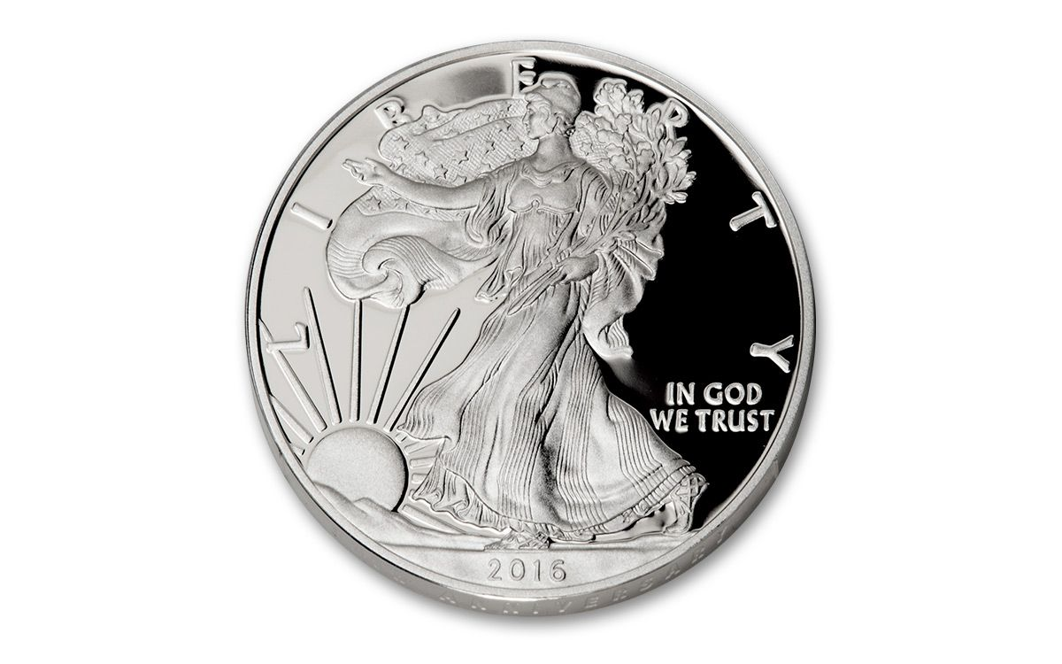 2016 1 Dollar 1 Oz American Silver Eagle Proof Ngc Pf70uc