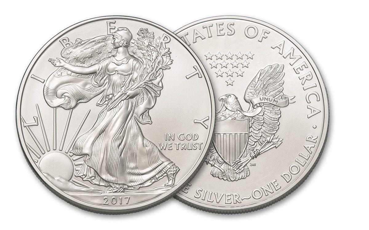 1 Oz Silver American Eagle 2015