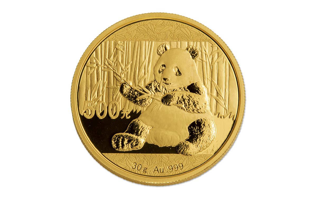 2017 China 500 Yuan 30 G Gold Panda Ngc Ms70 Coin