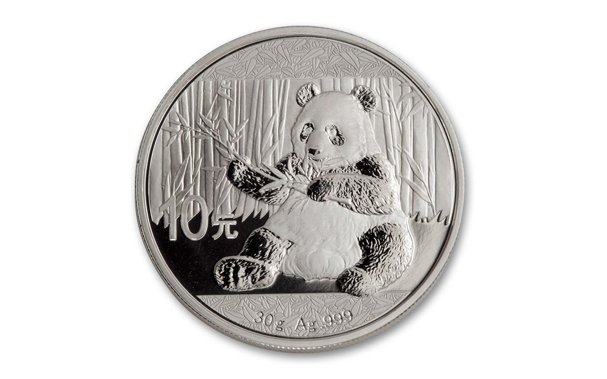 2017 China 30 Gram Silver Panda Ngc Ms69 Fdi 20 Coin Roll