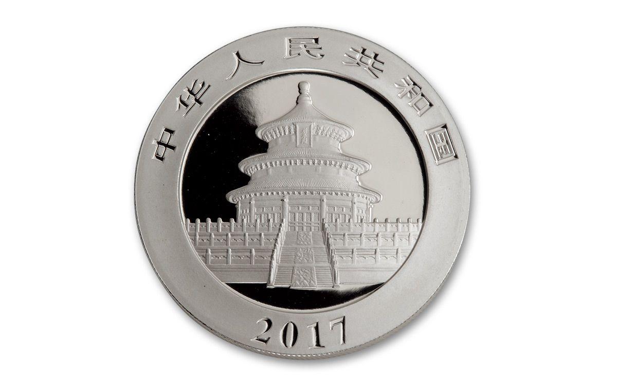 2017 China 30 Gram Silver Panda Ngc Ms69 Fdi 20 Coin Roll