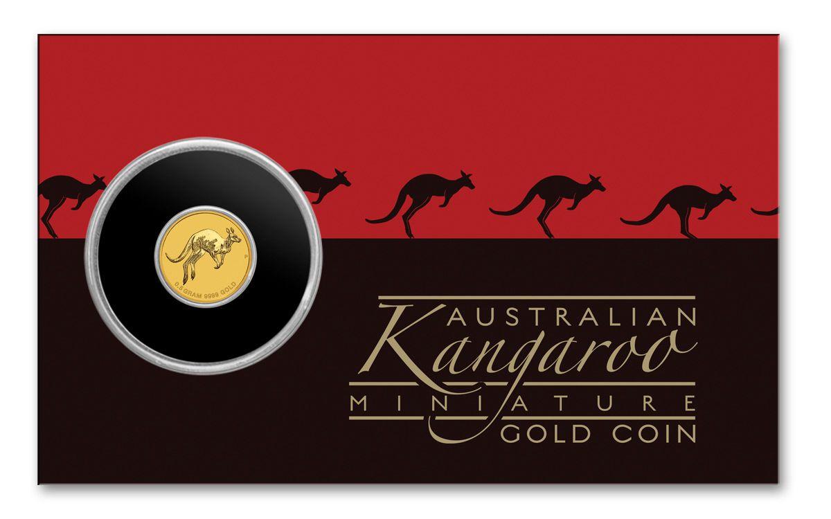2017 Australia 2 Dollar 5 Gram Gold Kangaroo Bu Coin