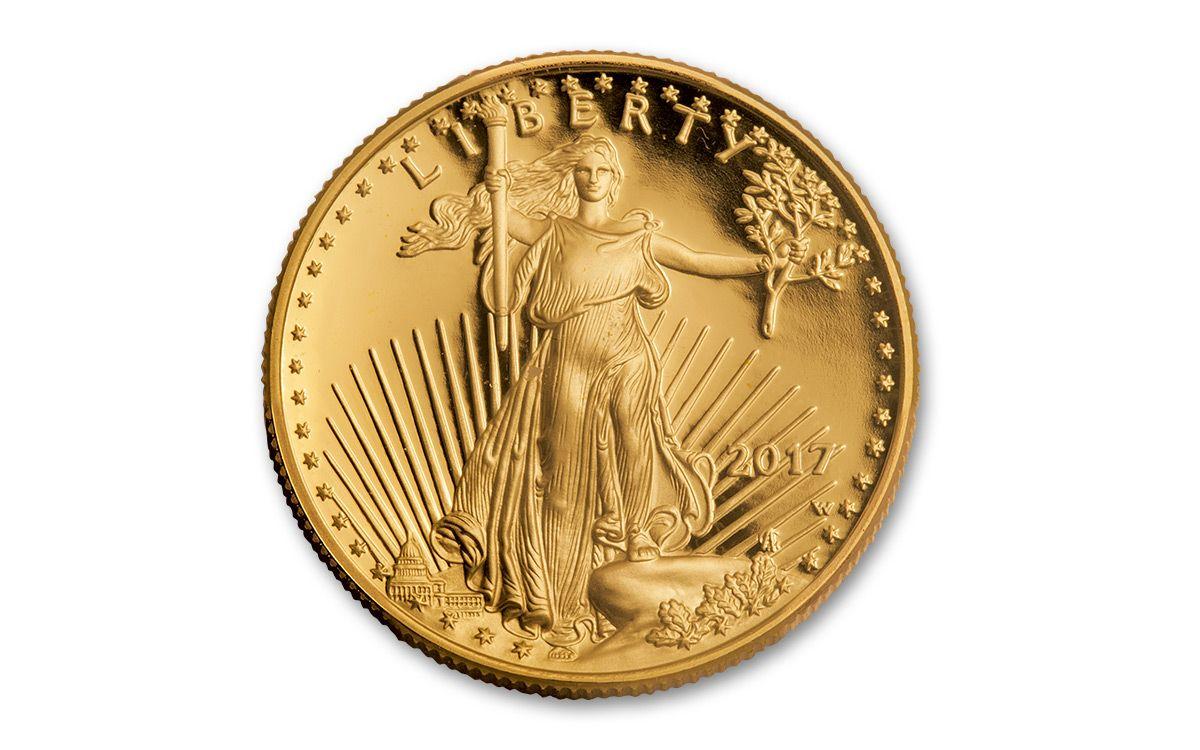 2017 Us 25 Dollar 1 2 Oz Gold Eagle Proof Coin Govmint Com