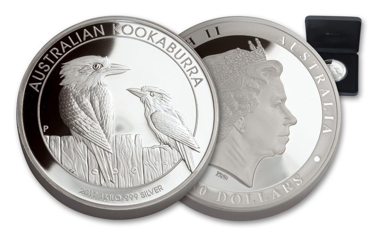 2017 Australia 30 Kilo Silver Kookaburra Hr Proof Coin