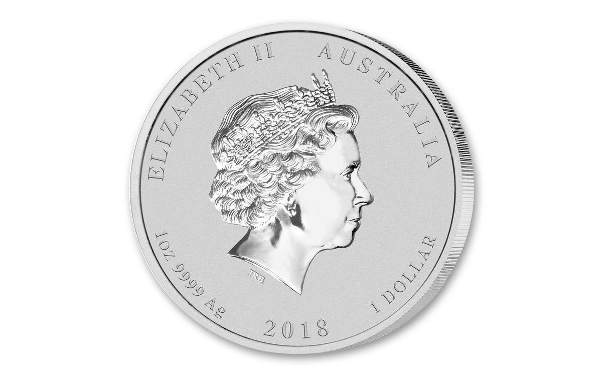 2018 Australia 1 Oz Silver Graduation Bu Govmint Com