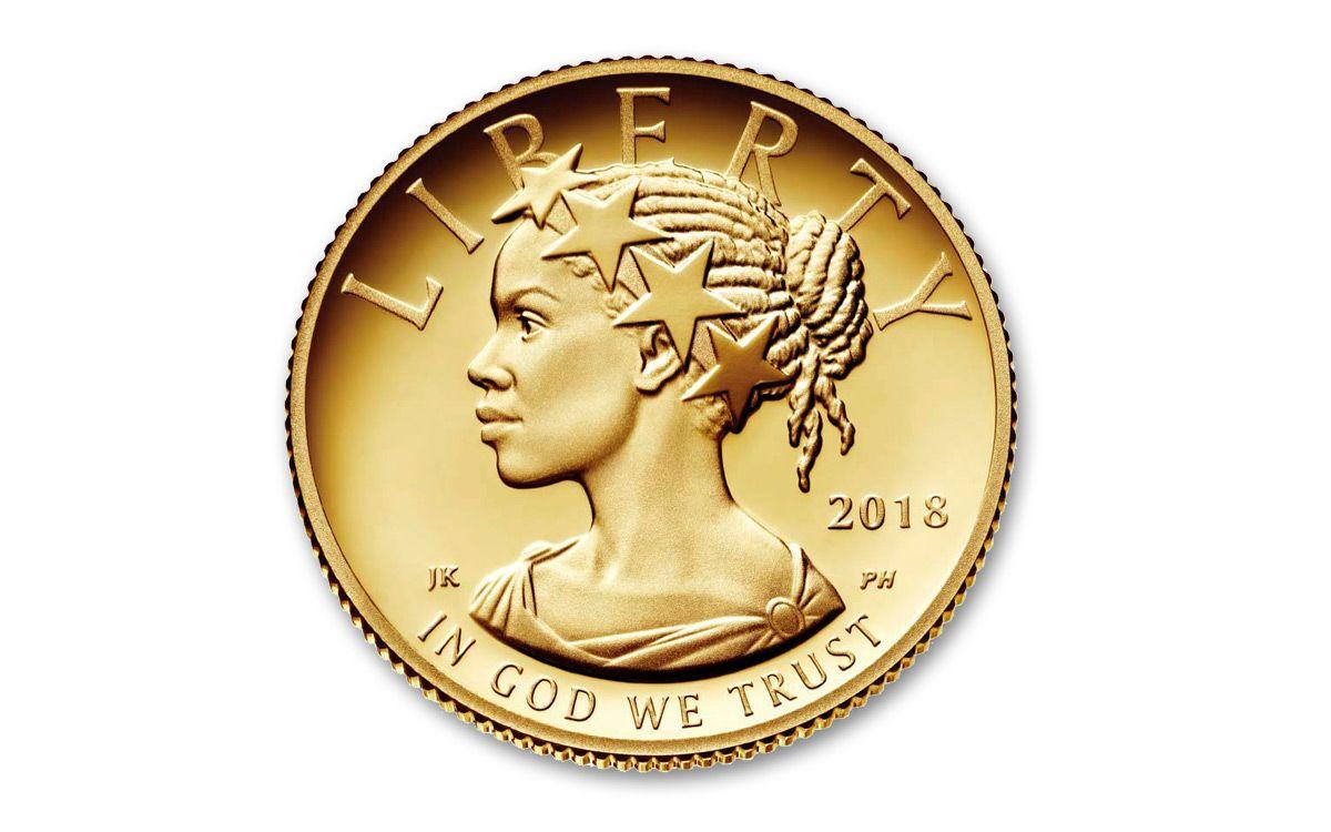 American Eagle Credit Card Login >> 2018-W 1/10-oz Gold American Liberty HR Proof Coin OMP ...