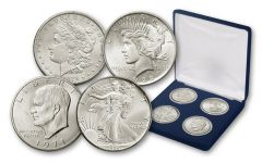 1878-1986 Silver Firsts Collection 4pc Set