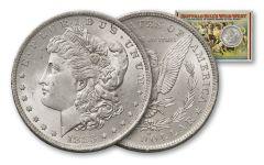 """1883-O Morgan Silver Dollar """"Buffalo Bill"""" BU"""