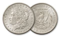 1904-O Morgan Silver Dollar BU