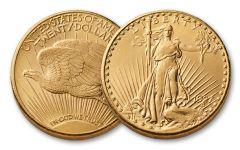 1907-1933 20 Dollar Saint-Gaudens XF
