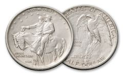 1925 Half Dollar Silver Stone Mountain Memorial AU