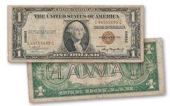 "1935-A 1 Dollar ""Hawaii"" Silver Certificate"